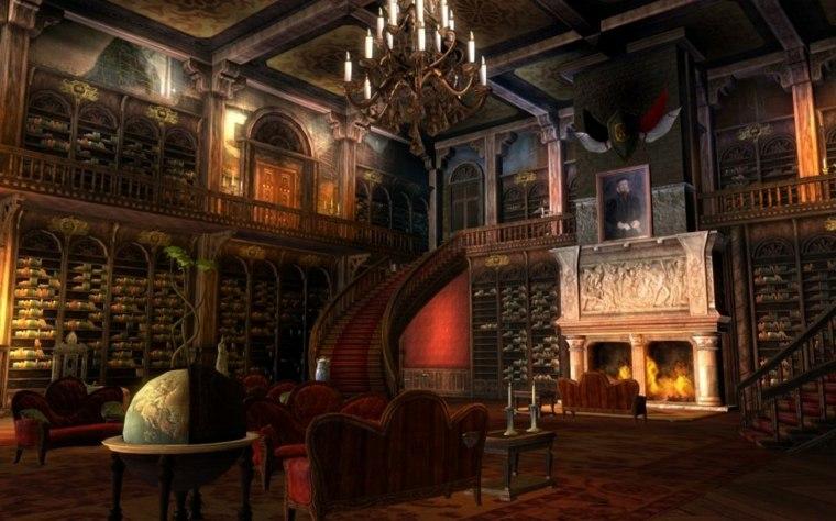 salón steampunk