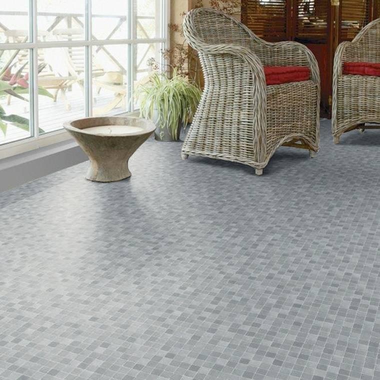 alfombras de vinilo de mosaico