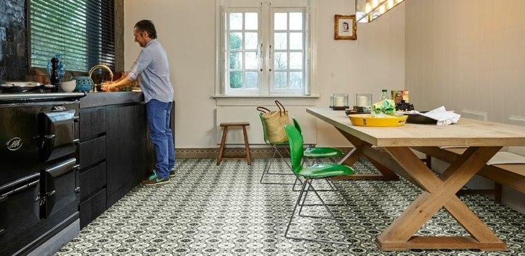 alfombra de vinilo de estilo vintage