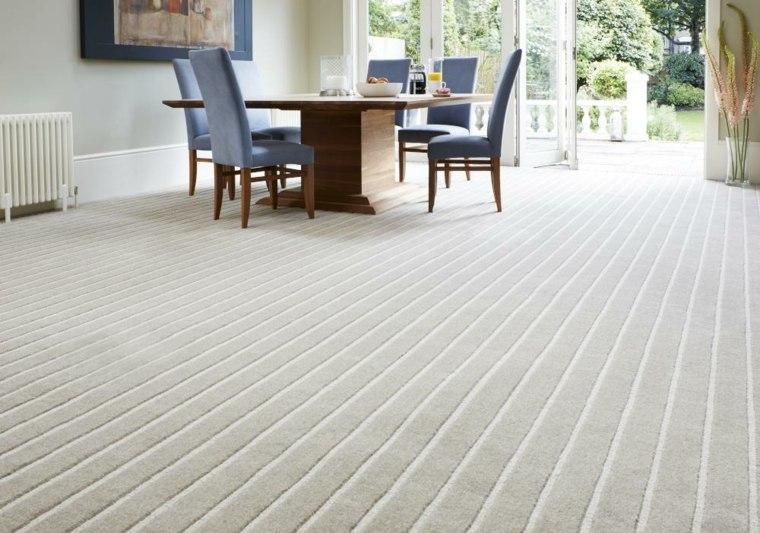 alfombras de vinilo y tejido