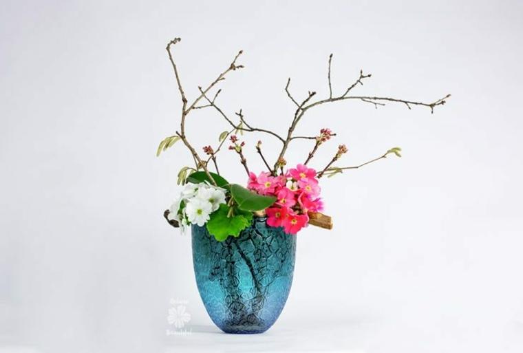 arte floral japonés