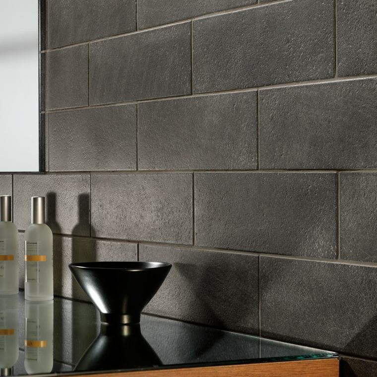 azulejos mate color gris