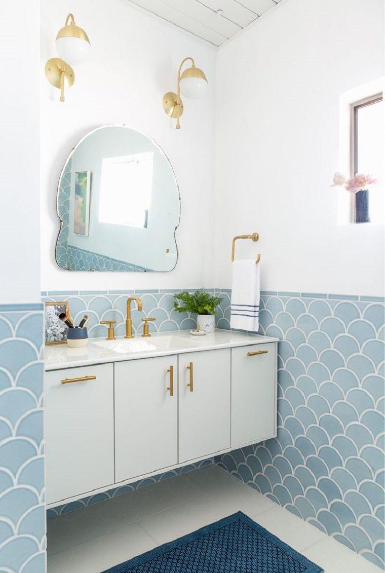 azulejos de escamas