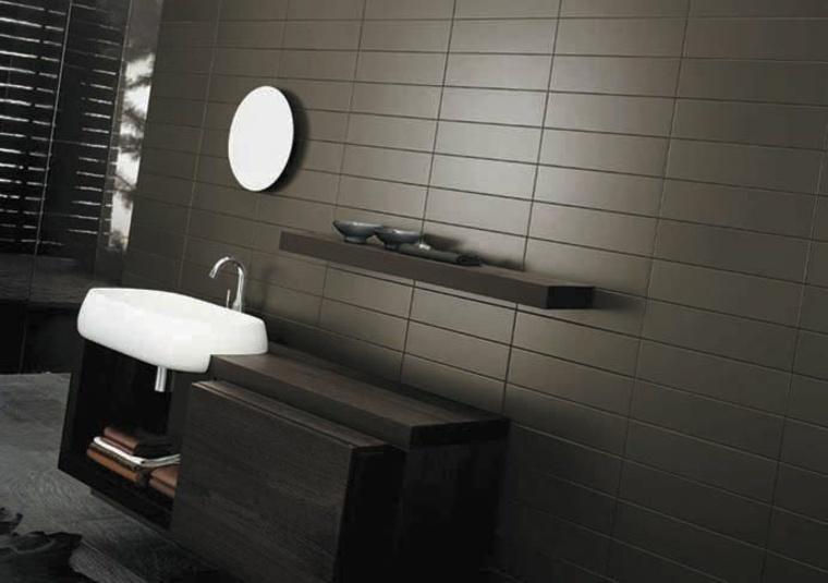 estupendo diseño de cuarto de baño elegante