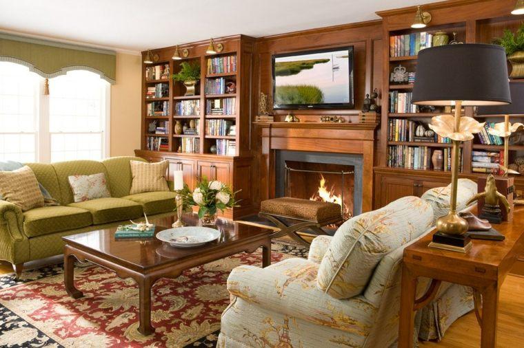 interiores inspiradores con chimeneas