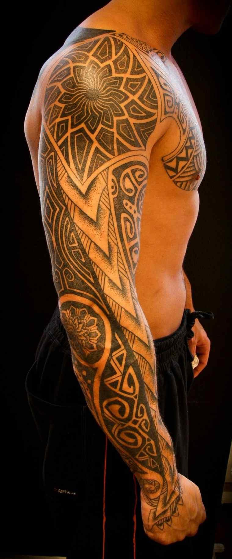 tatuajes tribales para hombre