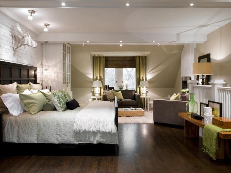 cabeceros de cama madera altos