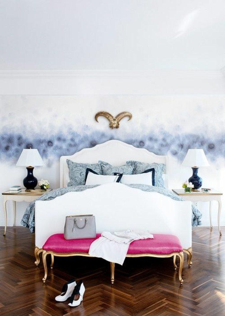 diseños de dormitorios boho chic