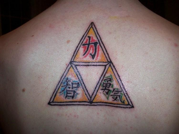 caracteres chinos tatuados espalda