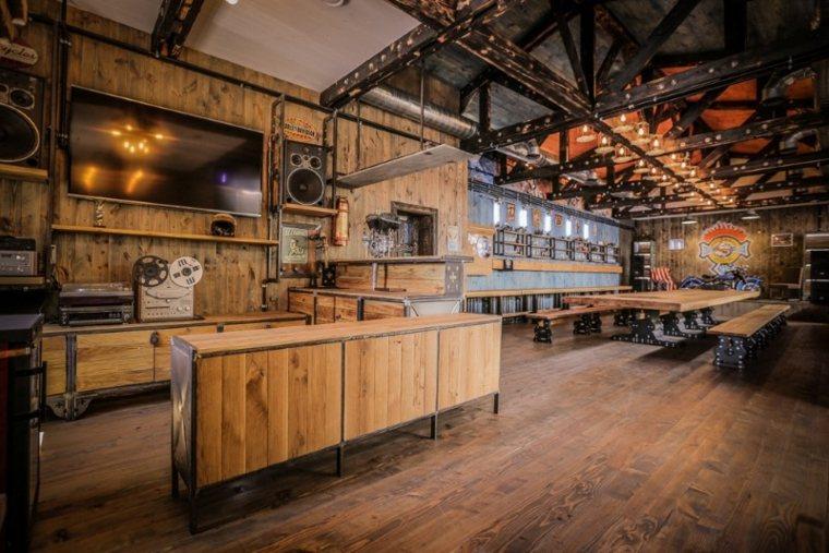 comedor y cocina steampunk