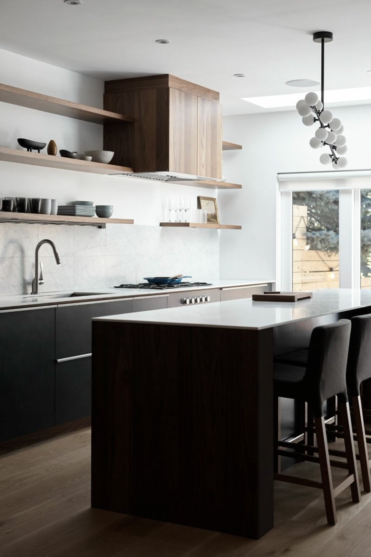 Cocinas con isla ideas para añadir este elemento en nuestra cocina -