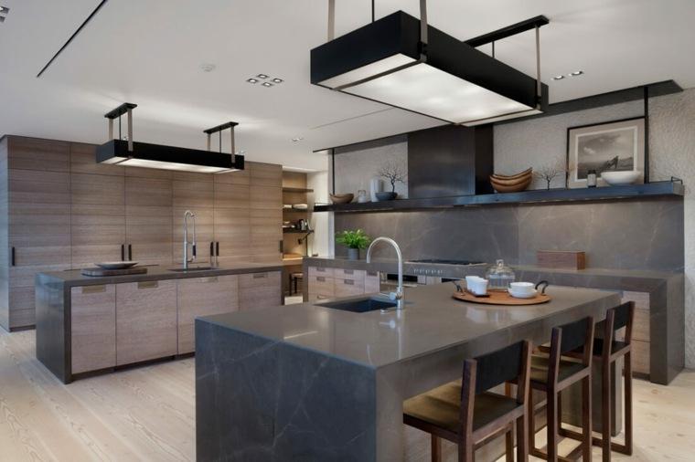 cocina-con-isla-diseno-meyer-davis-studio