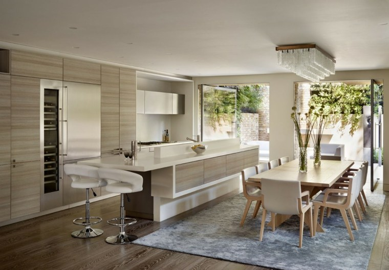 cocina-con-isla-diseno-moderno-opciones-colores-naturales