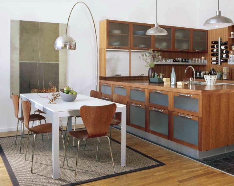 cocina-con-isla-madera-comedor