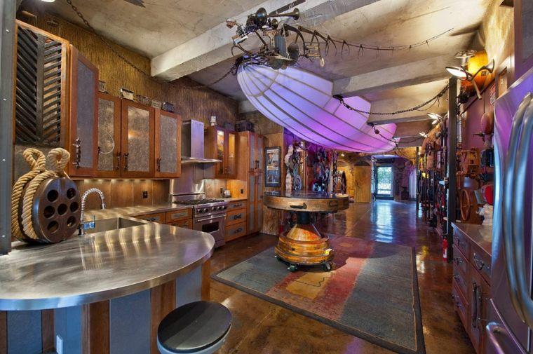 interior steampunk