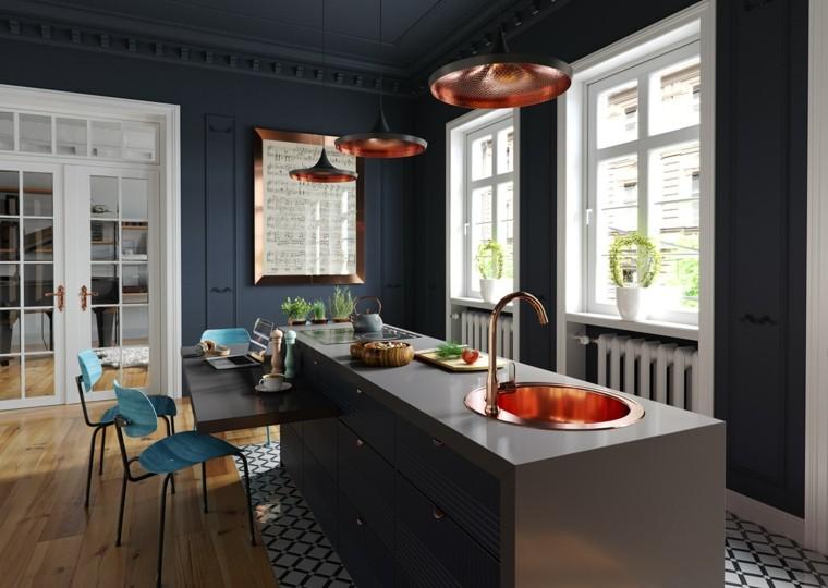 cocina-paredes-color-oscuro-opciones