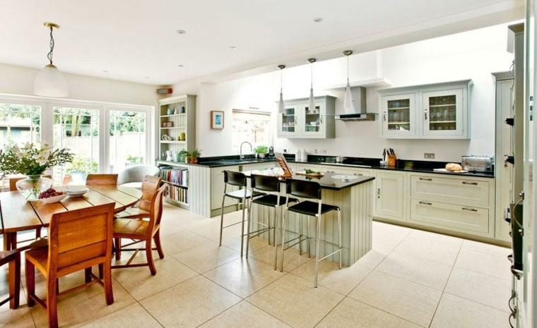cocina moderna abierta
