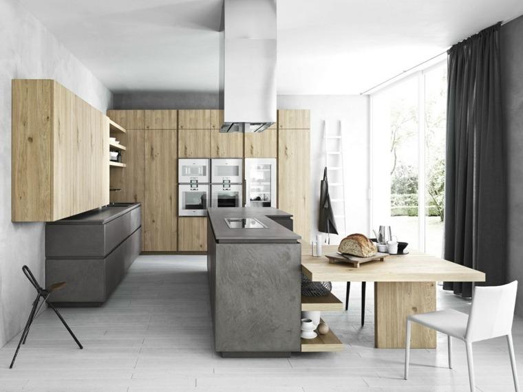 cocinas-de-madera-cemento-diseno-Gian-Vittorio-Plazzogna