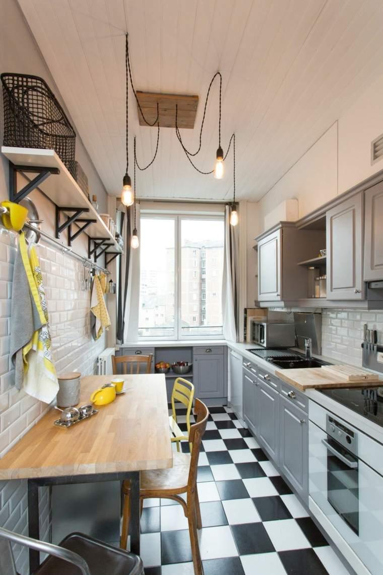 cocina moderna renovada