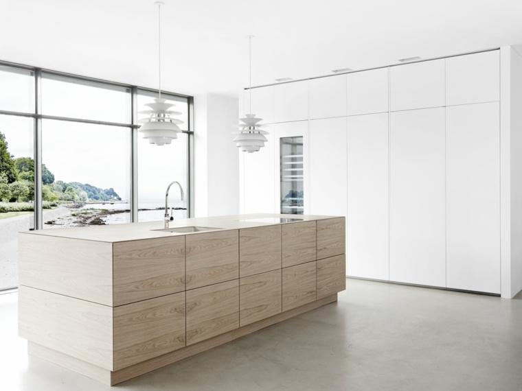 cocinas-de-madera-isla-diseno-moderno