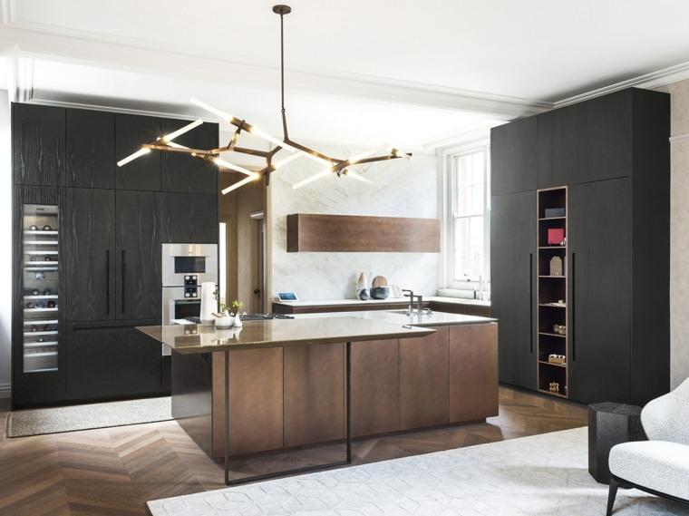 cocinas de madera-piedra-cobre-TM-Italia-Cucine