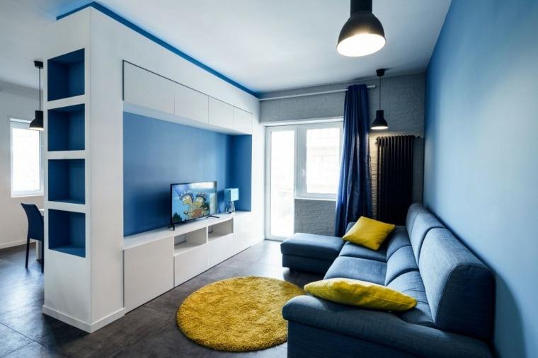color-azul-diseno-espacios-estrechos-estilo