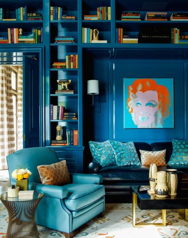 color-azul-diseno-estantes-libros-diseno
