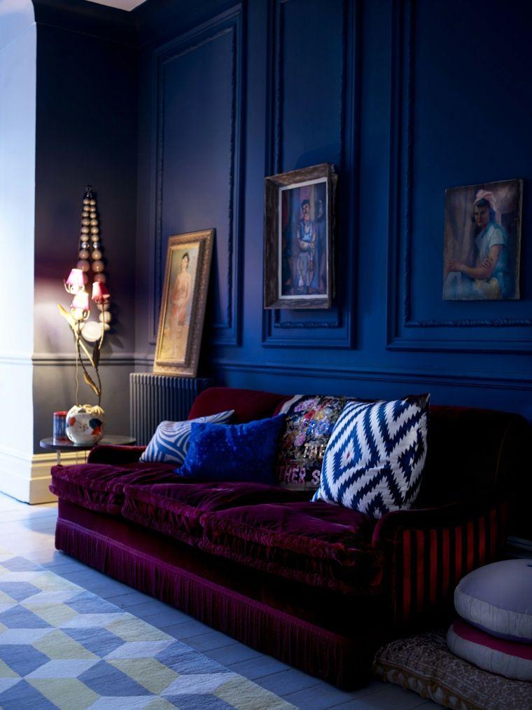 color-azul-diseno-interiores-oscuros-ideas