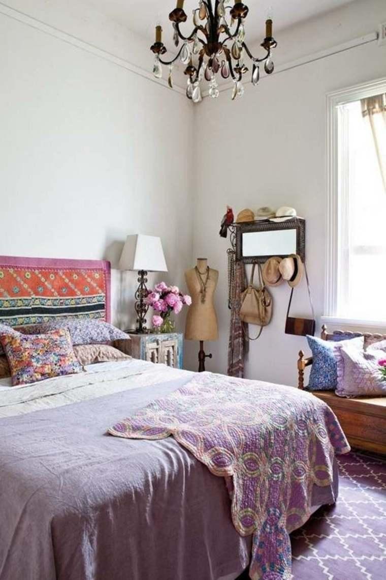 bonitos dormitorios boho chic