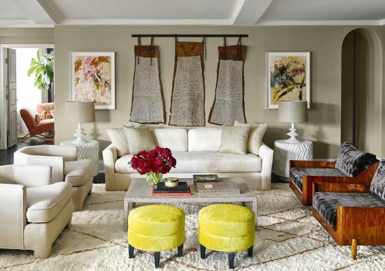 Colores pintura salon beautiful presentamos las - Pinturas para salones ...