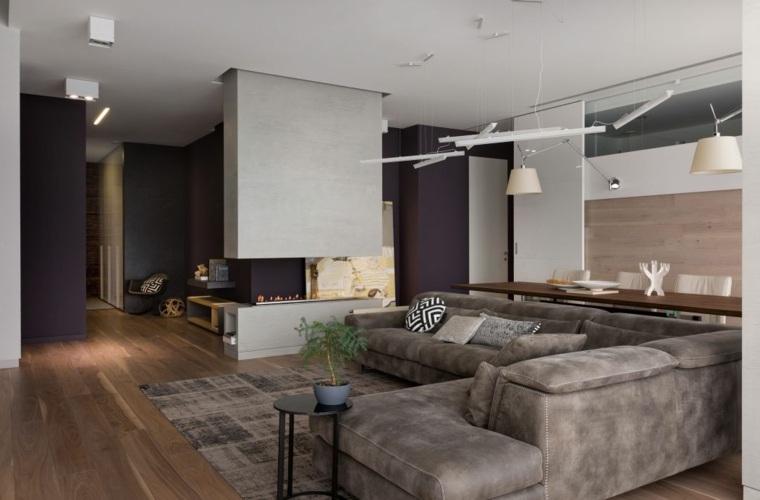 combinacion-purpura-gris-diseno-moderno