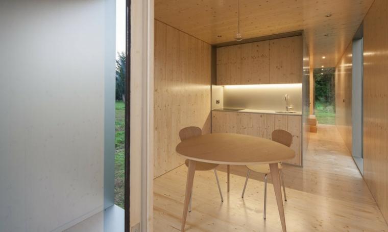 original interior de madera