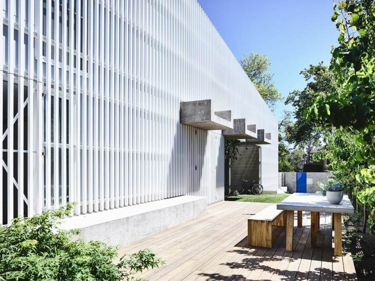 patio y jardín