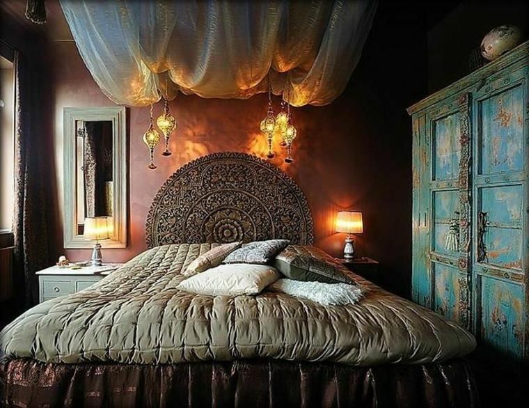 bonito dormitorio boho chic