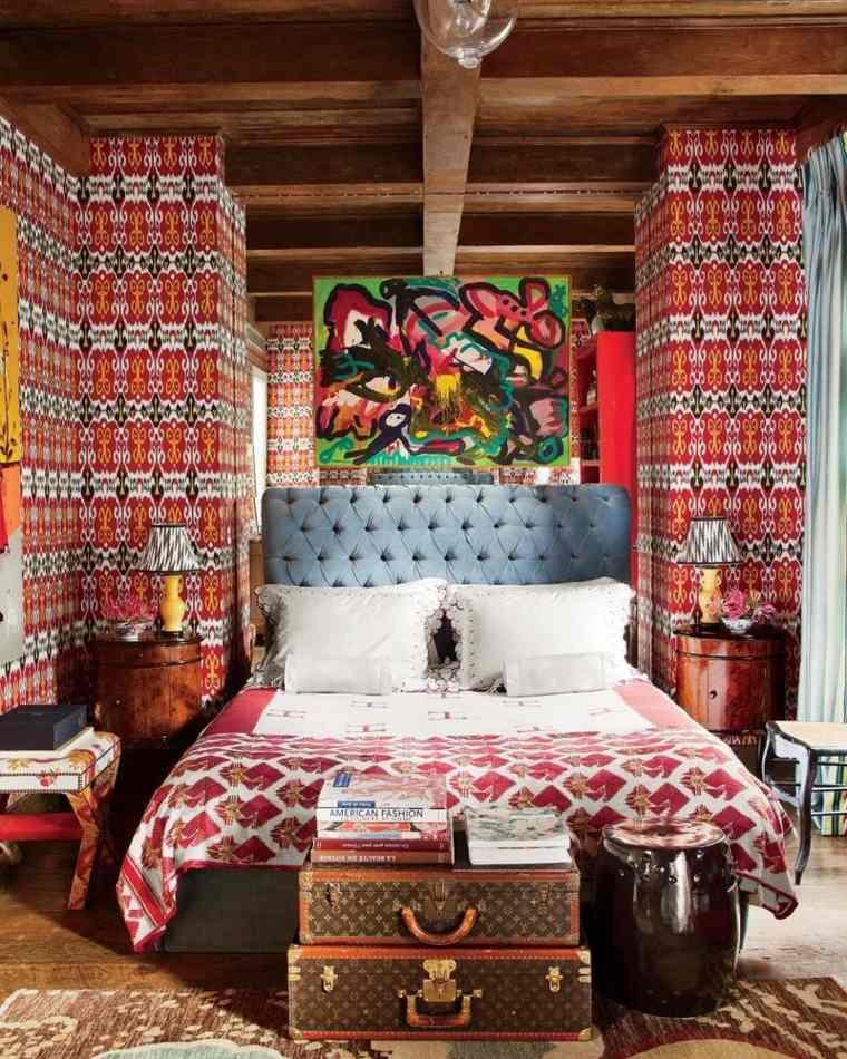 original dormitorio boho chic