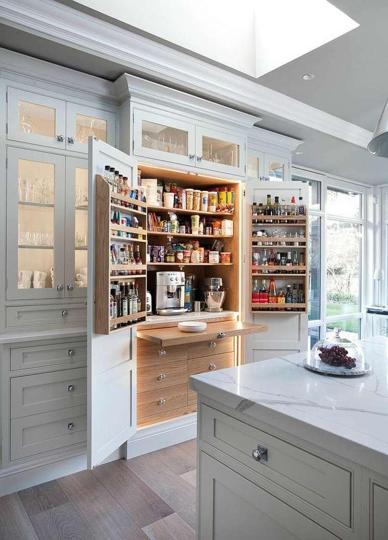 cómo organizar una despensa de cocina