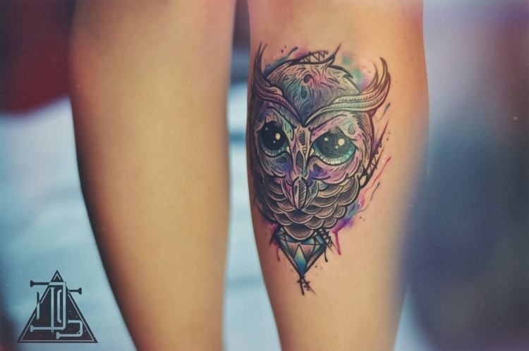 diseño diferente tatuaje especial