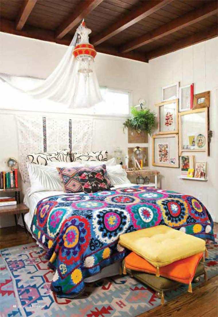 estupendo dormitorio boho chic
