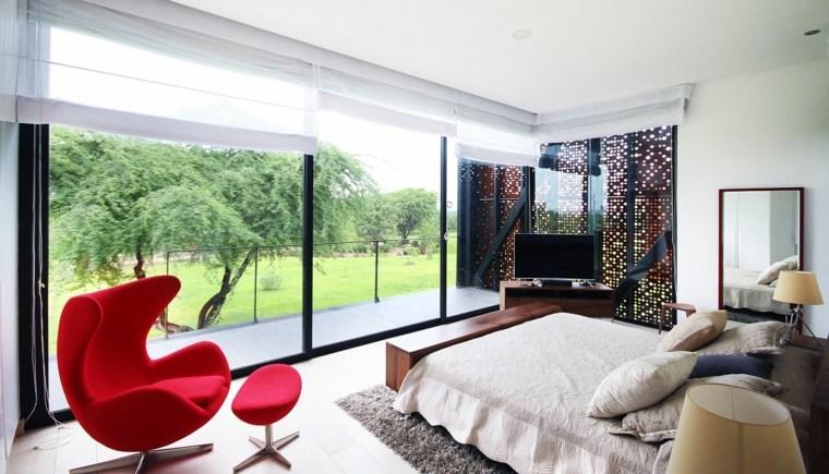 dormitorio de casa de vacaciones