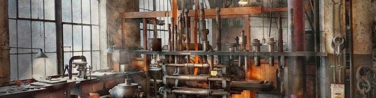 máquinas de vapor