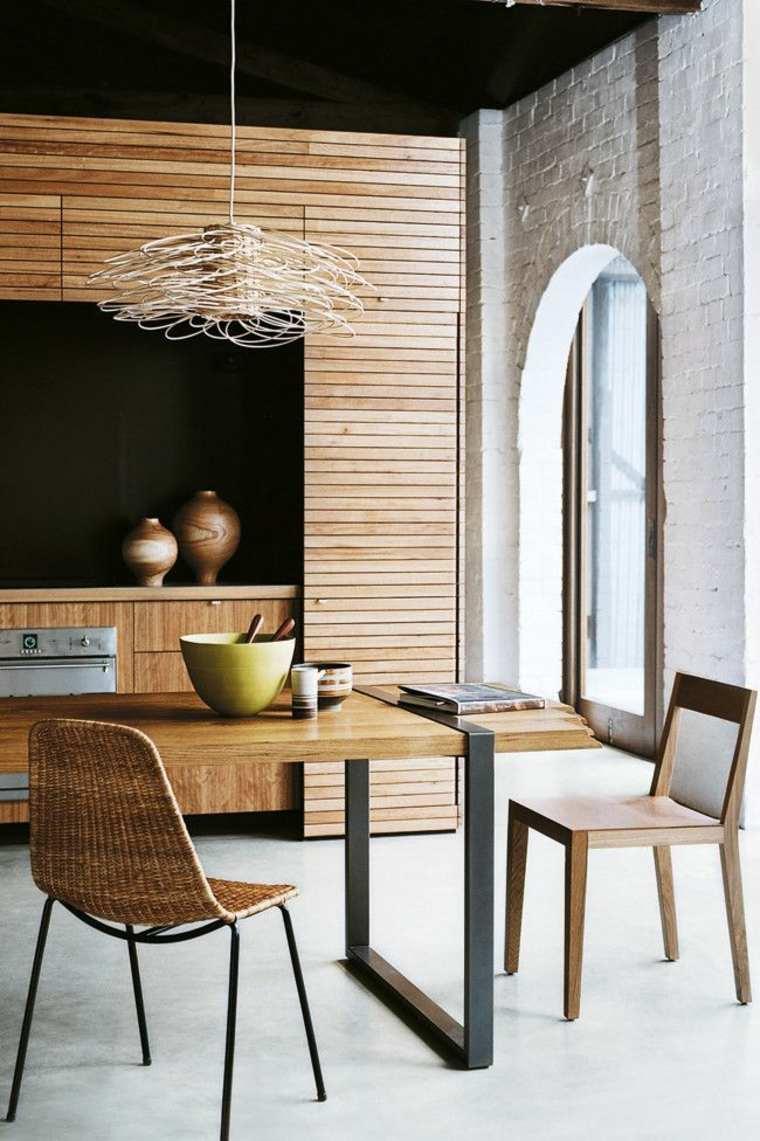 originales muebles de madera