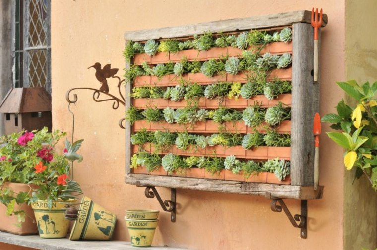 diseños de jardines verticales Diy