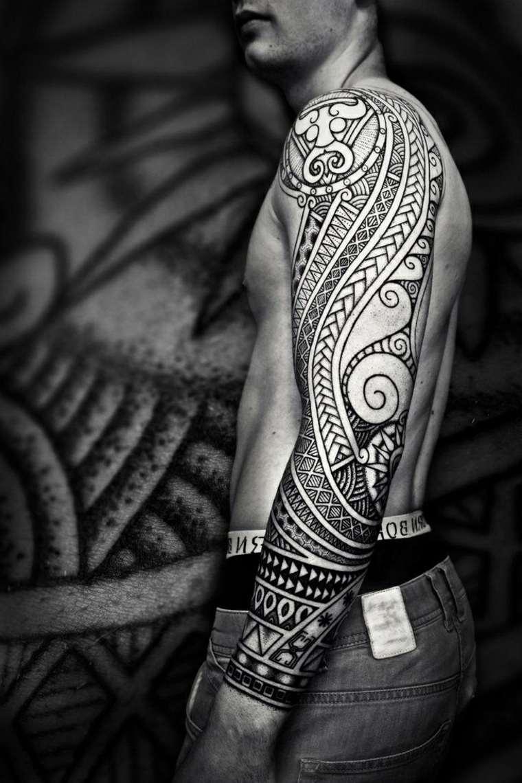 impresionantes tatuajes de tribales