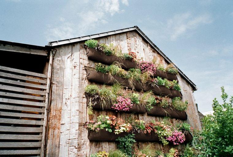 jardines verticales Diy con palets