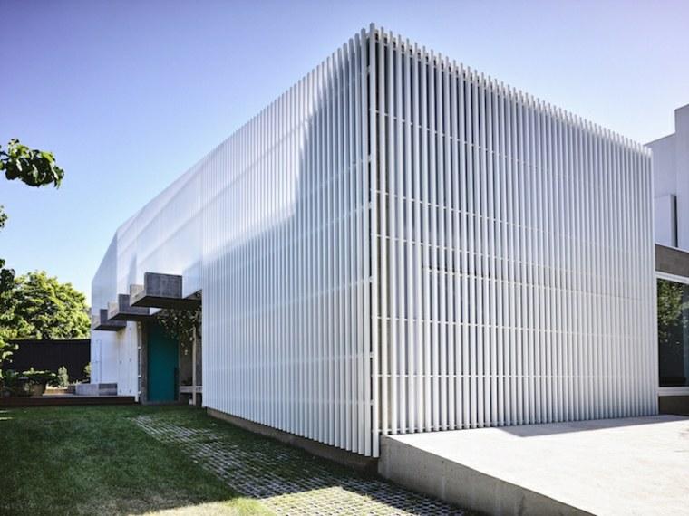 original fachada de aluminio