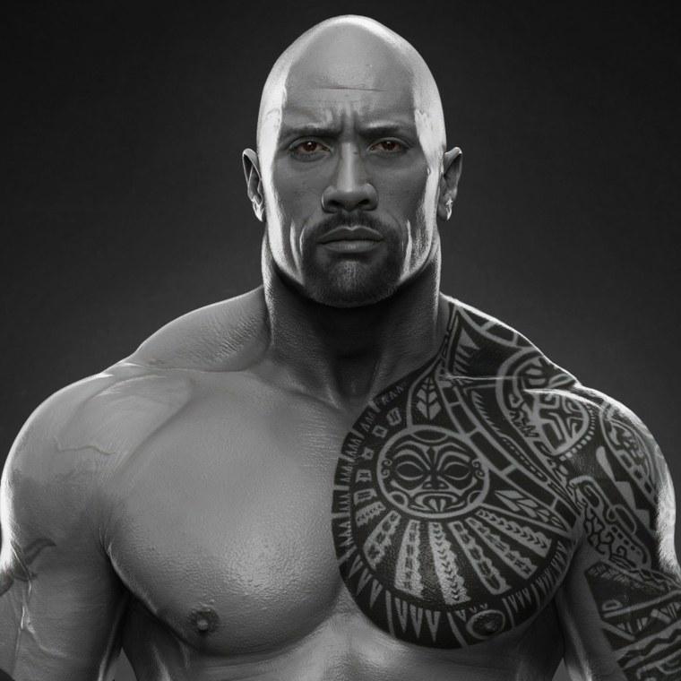 tatuajes de La Roca