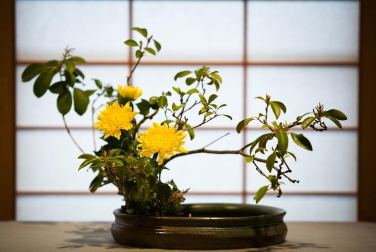 impresionantes arreglos florales japoneses