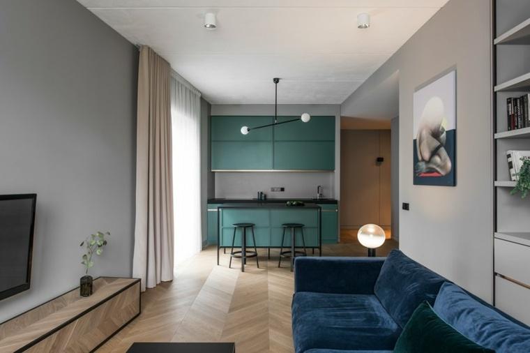 fotos-de-cocina-plano-abierto-apartemento-largo-estrecho