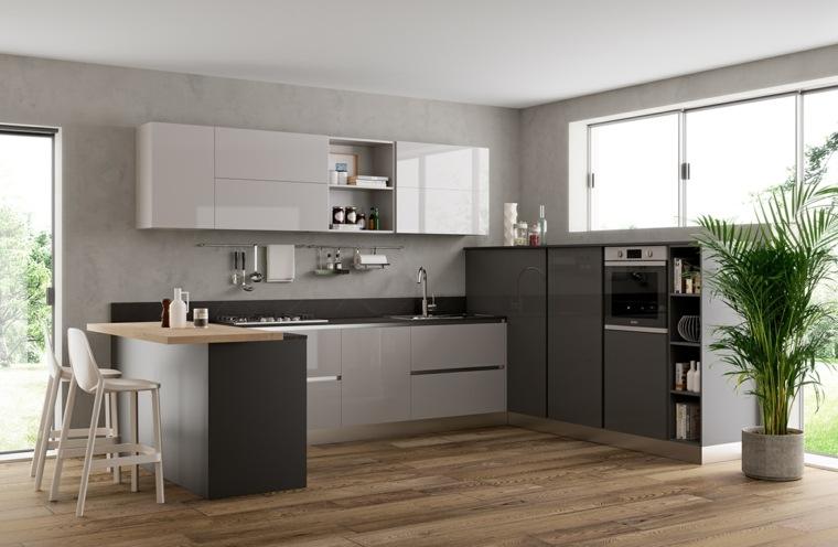 fotos-de-cocina-plano-abierto-combinacion-muebles-bella