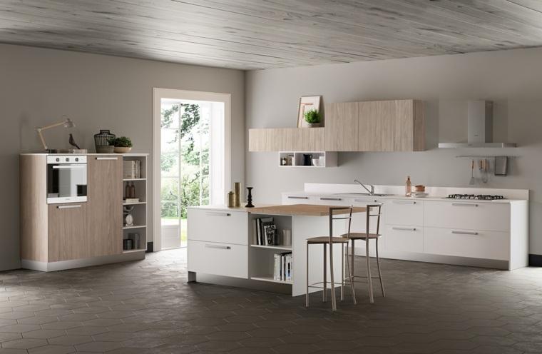 fotos-de-cocina-plano-abierto-espacio-aireado